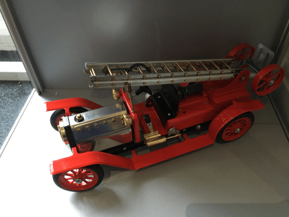 Image Of product 1404 Fire Engine - supplied by MPB Model Supplies