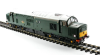 O Gauge Locomotive, Class 37 in BR Green Small Yellow Panel  Thumbnail