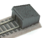 The thumbnail image for SL-41 : OO Gauge Sleeper built buffer stop with moulded ballast fill